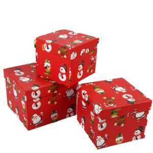 3 Pieces Christmas Gift Box - Aramis Trading