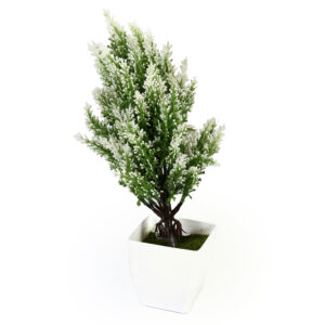 Artificial Small Potted White Tree - Aramis Trading