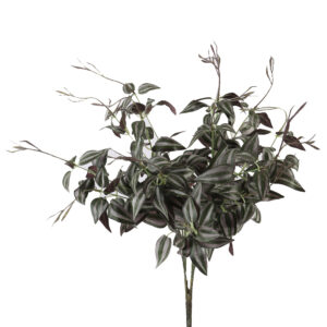 Artificial Clematis Green Leaves Two Tone Color - Aramis Trading